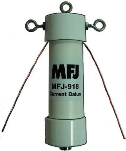 50 Ohm MFJ 915 1500 Watts PEP 1.8-30MHZ 1 to 1 Current Balun RF Isolator