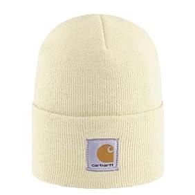 Carhartt Womens Acrylic Watch Cap - Winter White CHWA018WWH Womens Ski Hat
