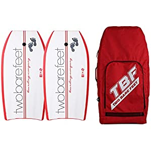 a2ee15be1b6f Two Bare Feet 42in Bodyboard Bundle - 2 x TBF Boarding Co Bodyboards +  Carry Bag