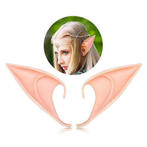 Halloween Elf Ears - 1 Pair Cosplay Fairy Ears ...