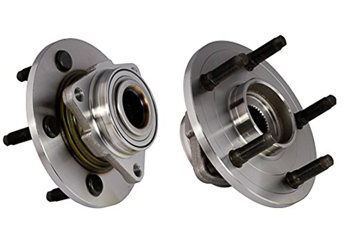 1500 Pickup Hub (Callahan 515072X2 [2] Pair FRONT Premium Grade [ 5 Lug 2-Wheel ABS ] Wheel Hub Bearing Assemblies [ 515072 ])