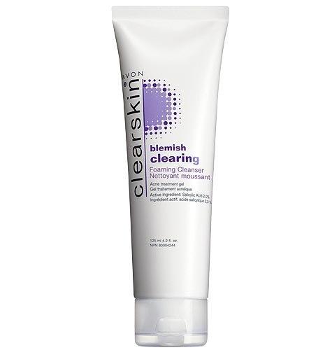 Avon Clearskin Blemish Clearing Nettoyant Moussant Traitement de l'acné Pimple