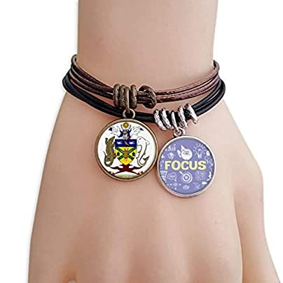 master DIY Solomon Islands National Emblem Bracelet Rope Wristband Force Handcrafted Jewelry Estimated Price -