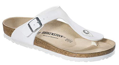 (Birkenstock 43731 Gizeh Women's Style Sandal, White, 41)