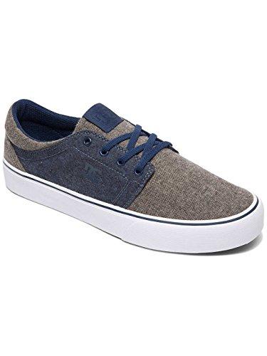 DC Trase TX SE M Shoe, Men's Low-Top Sneakers Navy/Dk Chocolate