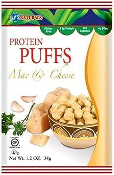 Kays Naturals - La proteína sopla Mac y queso - 6Paquete (s)