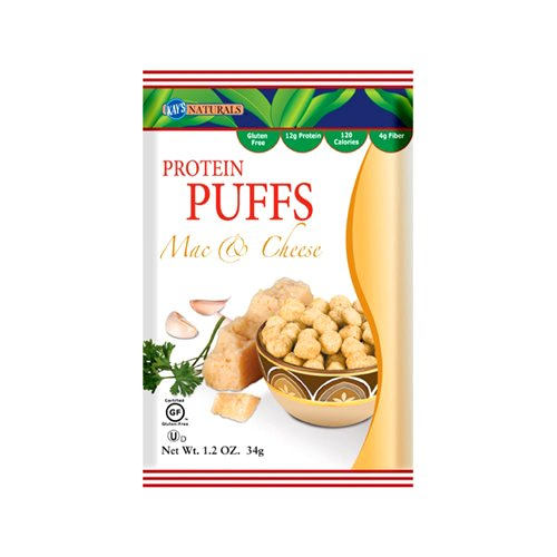- Kay's Naturals Protein Puffs, Mac and Cheese, 1.2 Ounce 6 count