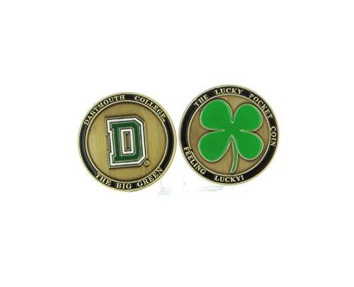 Alumni Associtation NEW! Dartmouth College Big Green Ball Marker, Golf, Brat Lucky Pocket Coin