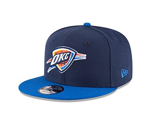 NBA Oklahoma City Thunder Adult Men NBA 9Fifty 2Tone Snapback - Okc Snapbacks Thunder
