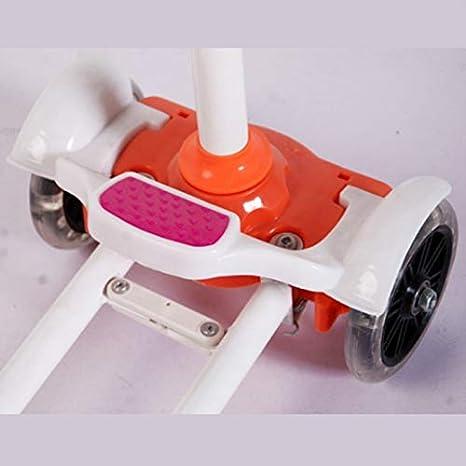Amazon.com: SAN_Q Patinete infantil con cuatro ruedas ...