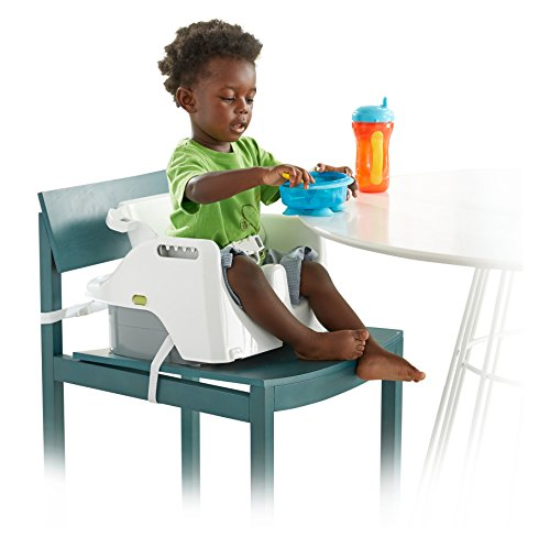 Fisher-Price 4-in-1 Total Clean High Chair, Green/Gray by Fisher-Price (Image #3)