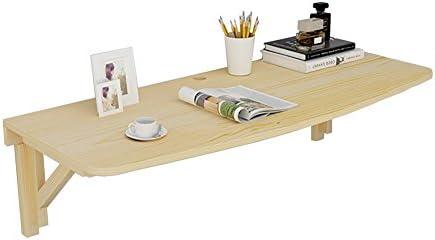 LXLA-mesa de pared Plegable de Madera Maciza Cocina Escritorio ...