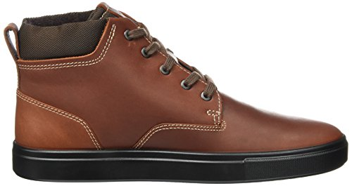 Uomo Collo Cognac Marrone Sneaker ECCO Kyle Alto a CPqPwX