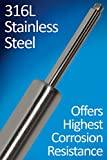 Bansbach Easylift Stainless Steel Gas Spring