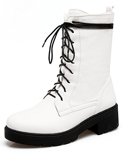 High Top Motorcycle Boots - 5