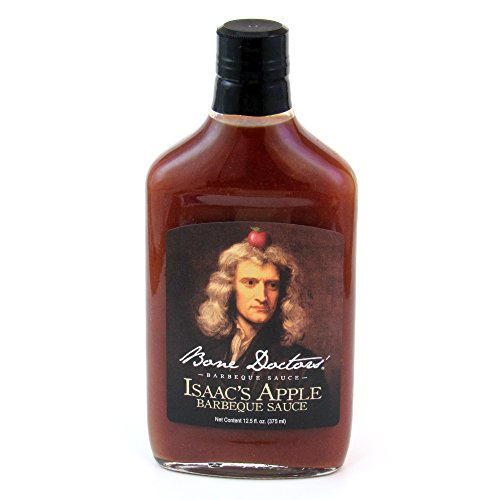 Bone Doctor's Isaacs Apple Barbeque Sauce 12 fl oz ()