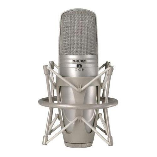 Shure KSM44A/SL Multi-Pattern Large Dual-Diaphragm Side-Address Condenser Studio (Pro Dual Diaphragm Studio Condenser)