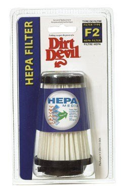 Dirt Devil Power Reach F-2 Hepa Filter Fits Dirt Devil