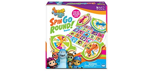 Beat Bugs Spin Go Round! Game (Board Game Bug)