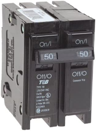 View-Pak Div. Of Tes ICBQ250 Siemens 2 Pole Common Trip Circuit Breakers
