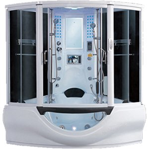 Aquaplus Distribution Azov Huge Steam Shower Bath 1630 X 1630