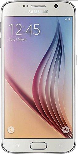 Samsung Galaxy S6 Unlocked SM-G920A GSM Smartphone, White Pearl, 32GB (Galaxy Metro Pcs S2 Phone)
