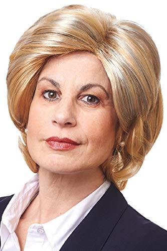 Madame President Blonde Mixed Women Wig ()