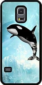 Funda para Samsung Galaxy S5 Mini - Orca Saltando by nicky2342