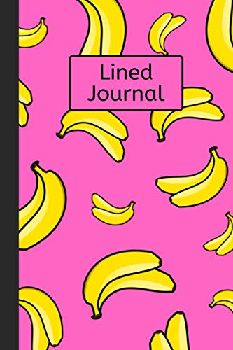 Cat Monkey Costumes Banana - Lined Journal: Banana Pattern: 120 Page