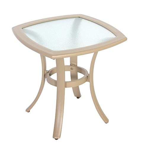 Hampton Bay Westin Commercial Patio Side Table (Outdoor Furniture Pacific Bay)