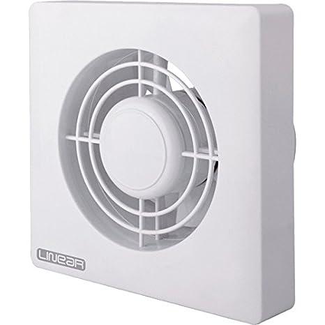 Serie lineal 15,24 cm baño ventilador con Sensor de humedad 240 V: Amazon.es: Hogar