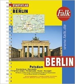 Book Berlin / Potsdam e.o. kaartboek: Grossraum
