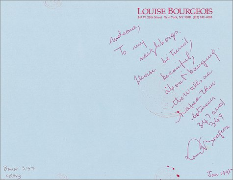 Download Louise Bourgeois: The Insomnia Drawings pdf