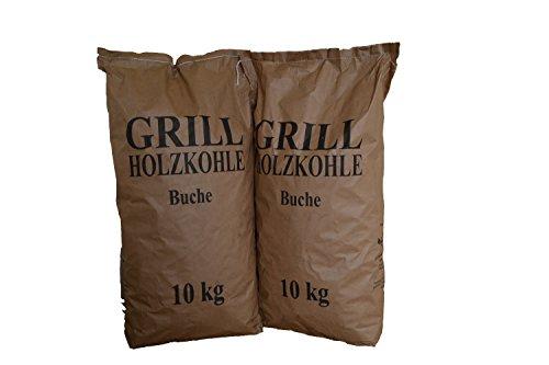 20 kg Grillholzkohle Holzkohle (Buche)