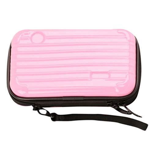 SUNyongsh Suitcase Cosmetic Handbag Waterproof Crashproof The Mini Suitcase Cosmetic Bag