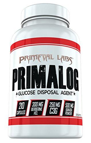 Primalog By Primeval Labs | Glucose Disposal Carbohydrate Glycogen - Glycogen Supplement