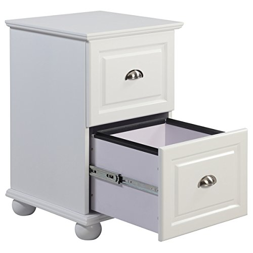Two Drawer White Storage Cabinet by I Love Living (Image #1)