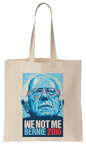 We Not Me Bernie Sanders 2016 Sacchetto di cotone tela di canapa
