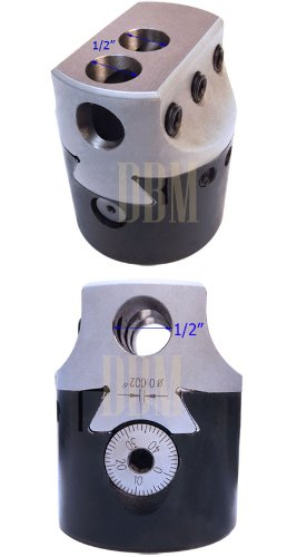 2'' Inch Boring Head Hole Size 1/2'' Shank Bars Milling Lathe Tool Workholding