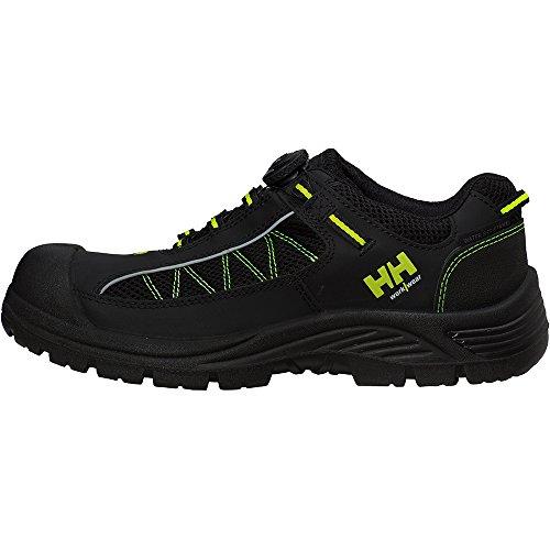 Zapatos de seguridad bajos Alna Mesh Boa Helly Hansen, ox78211-BLK/YEL-48 Noir/Orange
