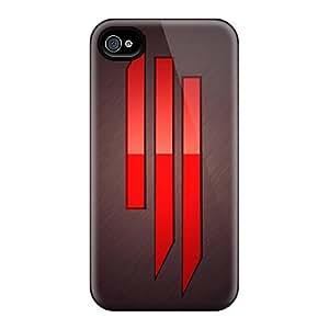 Hot PkePLdx3447aCILc Case Cover Protector For Iphone 4/4s- Skrillex