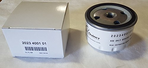 Quincy Original Spin On Oil Filter 2023400100/2023400101 (Quincy Original (5) Pack of Oil Filter 2023400100)