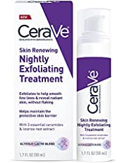 CeraVe Anti Aging Face Serum with Glycolic Acid, Lactic Acid, and Ceramides | Dark Spot Corrector for Face | 1.7 Ounce