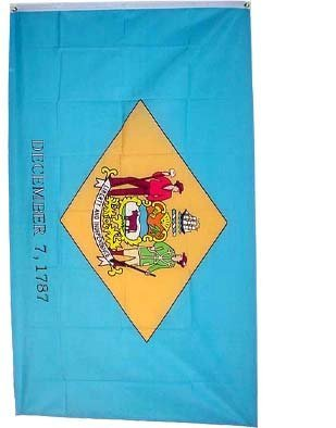 Large New 3x5 Delaware State Flag US USA American Flags