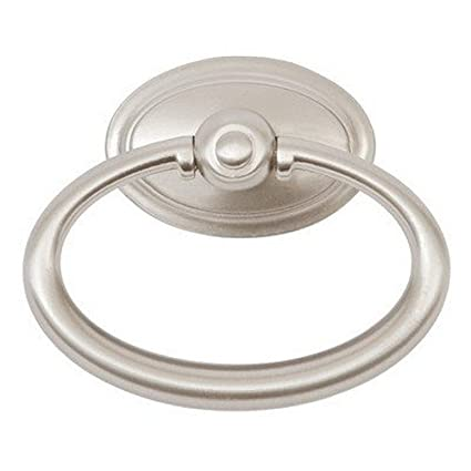 Sumner Street Home Hardware RL060643 Oval 2 1/2u0026quot; Ring Pull Satin