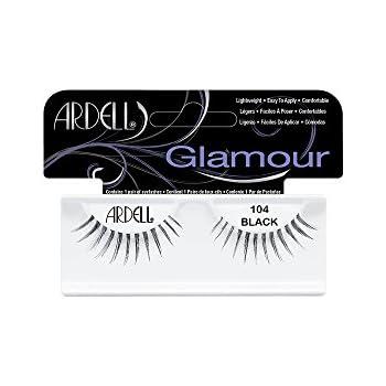 53b462bfa16 Amazon.com : Ardell Fashion Lashes Pair - 104 Black (Pack of 4 ...