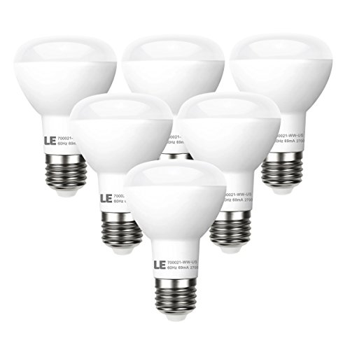 LE 6 Pack BR20 LED Light Bulbs Dimmable, 45W In...
