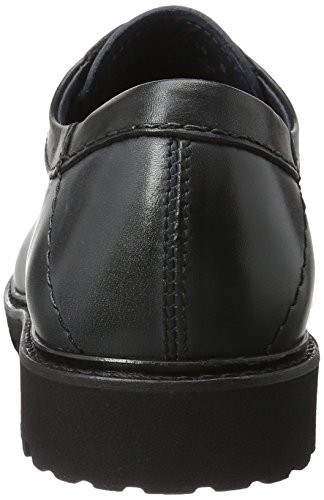 camel active Harvard 22, Zapatos de Cordones Derby para Hombre Azul (midnight/black 02)