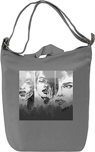 Three Woman Borsa Giornaliera Canvas Canvas Day Bag| 100% Premium Cotton Canvas| DTG Printing|