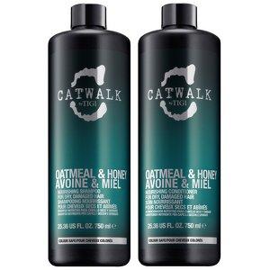 Tigi Catwalk Oatmeal & Honey Shampoo and Conditioner 25.36 Oz Tween